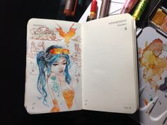 Number 337 of Kenneth Rocafort's 365 day sketch project.