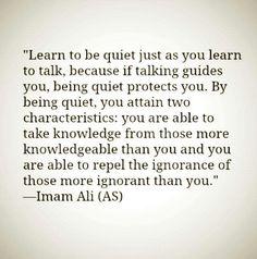 Wisdom ~ Imām Alī ( ع )