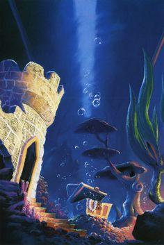 Disney and Pixar Concept Art - Finding Nemo