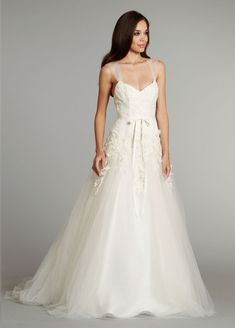 adding tulle straps would be easy - and its so beautiful and delicate!