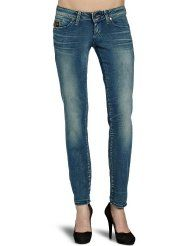 G-STAR Damen Jeans Normaler Bund, MIDGE STRAIGHT WMN - 6021