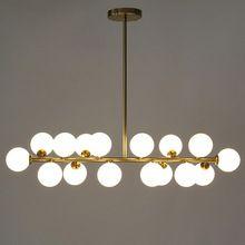 G4 LED Bulbs Chandelier Lighting Surface Mounted Gold/ Black Chandelier For Living Room Bedroom lamparas de techo Home Lighting(China)