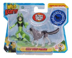 3PCS Wild Kratts Toys Martin Chris Activate Creature Power Action Figure Toy E1