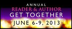 Reader Author Get Together June 6 to 9 2013