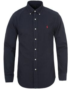 Camicia Polo Ralph Lauren slim fit red ss19