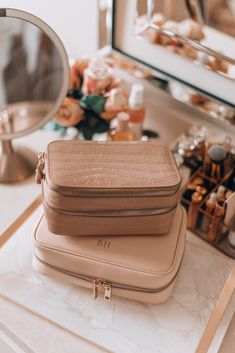 My Travel Essentials – Personalized Luggage & Accessories (Cella Jane) Carry On Luggage, Travel Luggage, Travel Bags, Travel Packing, Travel Backpack, Travel Ideas, Travel Inspiration, Summer Essentials, Travel Essentials