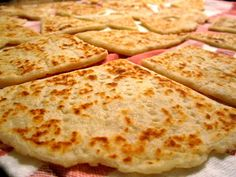 Scottish potato scones are a very common side on holidays