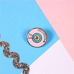 Fashion Wheel Enamel Pin from Punky Pins. #punkypins #pingame #fashionwheel