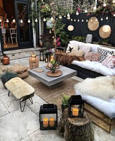 50 Ideas of Gorgeous, Modern Bohemian Furniture Outdoor Spaces, Outdoor Living, Outdoor Decor, Backyard Patio Designs, Outdoor Furniture Sets, Affordable Furniture, Furniture Shopping, Furniture Online, Furniture Stores