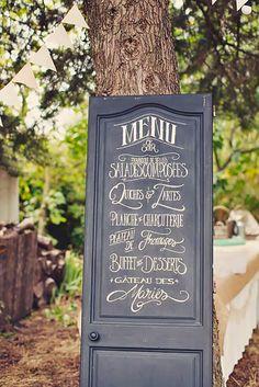 24 Fabulous Rustic Old Door Wedding Decoration Ideas ❤ See more: http://www.weddingforward.com/old-door-wedding-decoration-ideas/ #weddings #decoration