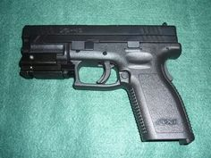 Springfield XD 40 Caliber With Laser