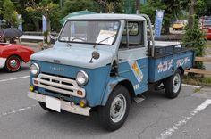 Small Trucks, Mini Trucks, Japanese Cars, Vintage Japanese, Nissan Infiniti, Mini Bus, Commercial Vehicle, Pickup Trucks, Cars And Motorcycles