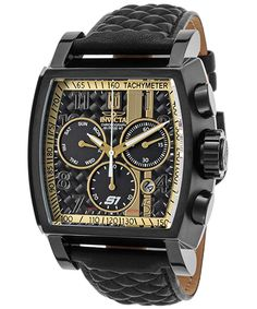 3e9d57c86ca8 Invicta Jason Taylor Reloj de hombre cuarzo suizo correa de cuero 22381  OK-TOP