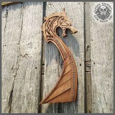 Drakar Wolf Viking Boat Odin Valhalla Home Decor Norse Thor   Etsy Viking Ship, Viking Art, Viking Decor, Thor, Wood Carving Patterns, Carving Designs, Escudo Viking, Viking Longship, Norse Runes