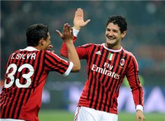 AC Milan striker Alexandre Pato