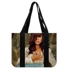 Rihanna Tote Bag (2 Sides) Eco-friendly Shopping Bags GL73