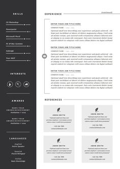 resume template cv template cover letter for word icons 3 page pack - Template Professional Resume