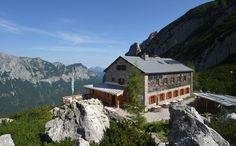 Blaueishütte am Blaueisgletscher