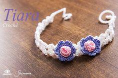 Olá pessoal na aula de hoje vamos fazer uma tiara em crochê ? Aula passo a passo aqui  https://youtu.be/8t2IeO-ZNxs #crochet #professorasimone #semprecirculo