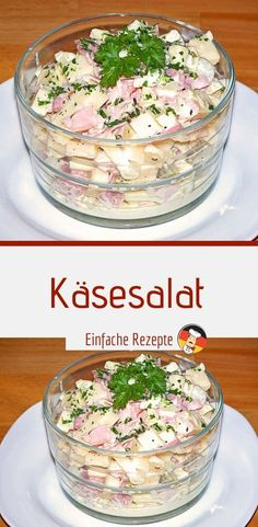 cheese salad - Ingredients 250 g cheese (depending on taste, also packaged) 1 s. cheese salad - In Filling Low Calorie Meals, Low Calorie Meal Plans, Healthy Low Calorie Meals, Low Calorie Recipes, Sauteed Brussel Sprouts, Roasted Sprouts, Healthy Brussel Sprout Recipes, Roasted Bacon, Cheese Salad