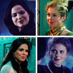 Regina and Tinker Bell #tink #evilregal #OUAT