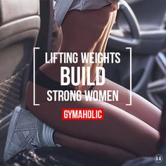 Lift some weight !!