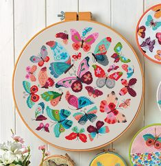 Butterflies Cross Stitch Pattern (Digital Format - PDF), You can produce very particular styles for textiles with cross stitch. Cross stitch types may almost impress you. Cross stitch newcomers may make the types they desire without difficulty. Cross Stitching, Cross Stitch Embroidery, Embroidery Patterns, Butterfly Cross Stitch, Cross Stitch Flowers, Butterfly Dragon, Butterfly Pattern, Monarch Butterfly, Simple Cross Stitch