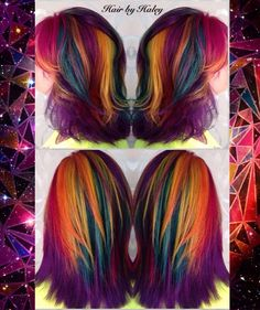 Galaxy hairstyles: some of this year's TOP creations!