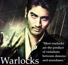 The Mortal Instruments: city of bones. I, for one, am very pleased that Magnus does have cat eyes.