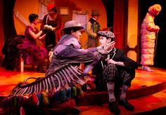 James and the Giant Peach April 10 - May Coterie Theatre, Kansas City, MO. James And The Giant Peach Costume, James And Giant Peach, Bug Costume, Costume Ideas, Peach Pit, Animal Costumes, Kids Laughing, Roald Dahl, Buy Tickets