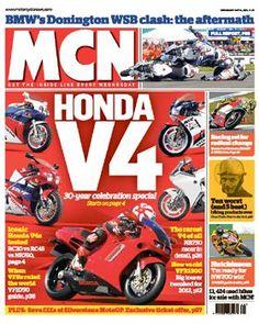 Honda V4 celebration!  My first bike - a V4 Honda.  Memories . . .