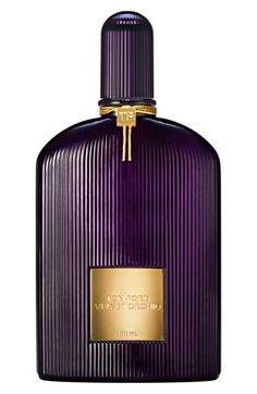 Tom Ford Velvet Orchid Eau de Parfum  What it is: Velvet Orchid Eau de Parfum is an oriental floral fragrance by Tom Ford.  Fragrance story: It captures notes of the iconic black orchid and mixes it with hints of cool citrus, dramatic petals, honey and rum.  Style: Oriental, floral.  Notes: Italian bergamot, rum, honey, velvet orchid accord, black orchid, vanilla.