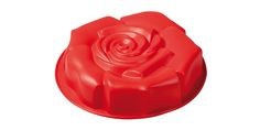 """TORTIERA """"Rosa Fiorita"""" - PAVONI ITALIA s.p.a.  Tortiera in silicone platinico.  Diametro: 270mm Altezza: 55mm"""