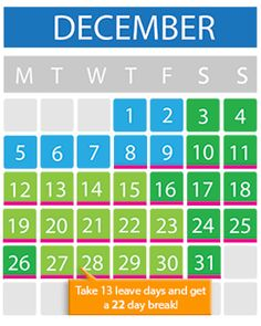 The Ultimate 2016 Holiday Cheat Sheet: Long Weekends and School Holidays Take more holidays in…