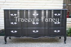 Custom Painted French Provincial Dresser - MADE TO ORDER. $780.00, via Etsy.