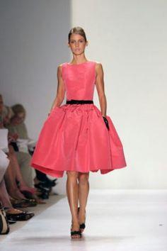 Lovely dress from Oscar de la Renta