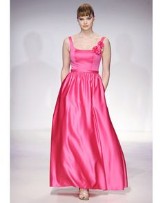 LOVE this for bridesmaids- also we could easily incorporate the white accents Liv wants. Alfred Angelo, Spring 2012