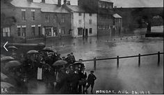 Dudley's Bridge, Sileby. Monday August 26th 1912