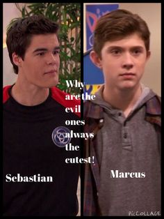 Marcus and Sebastian from Lab Rats
