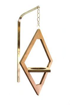 Jungalow+Hanging+Planter+//+Geometric+Ornament