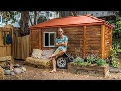 Can you imagine a life with no gas bills, water bills or electricity bills? Rob Greenfield is living. Gas Bill, Environmentalist, Eco Friendly House, Environmental Issues, Off The Grid, Homesteading, San Diego, The Incredibles, Outdoor Structures