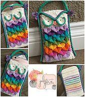 Ravelry: Hootie Holder Crochet Owl Pouch pattern by Julie Schappert