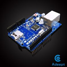 Ethernet W5100 Network Shield Module For Arduino UNO Mega 2560 1280 328   #Adeept