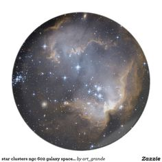 star clusters ngc 602 galaxy space universe dinner plate