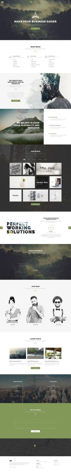 NRG Web Design Inspiration 4