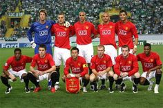 Manchester United FC. seems like so long ago!