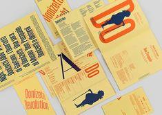 andrewgarybeardsall:  Studio Temps sophisticated identity for Bergamo-based theatre