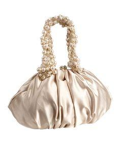 Betsey Johnson Pearl Chain Shoulder Bag