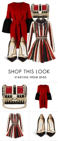"""""""A Big Top Affair"""" by fashionforwarded ❤ liked on Polyvore featuring Valentino, Albino, Zuhair Murad, Jimmy Choo and winterwedding"""