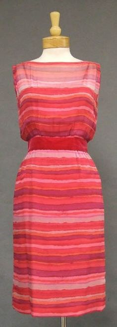 Cocktail Dress, Howard Greer, 1960s via Vintageous